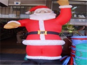 One Big-assed Inflatable Santa
